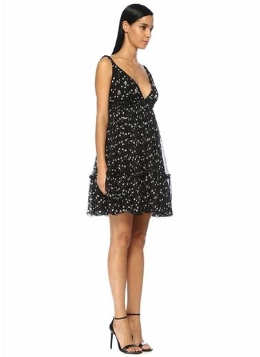 Beymen Collection Mini İpek Abiye Elbise Siyah